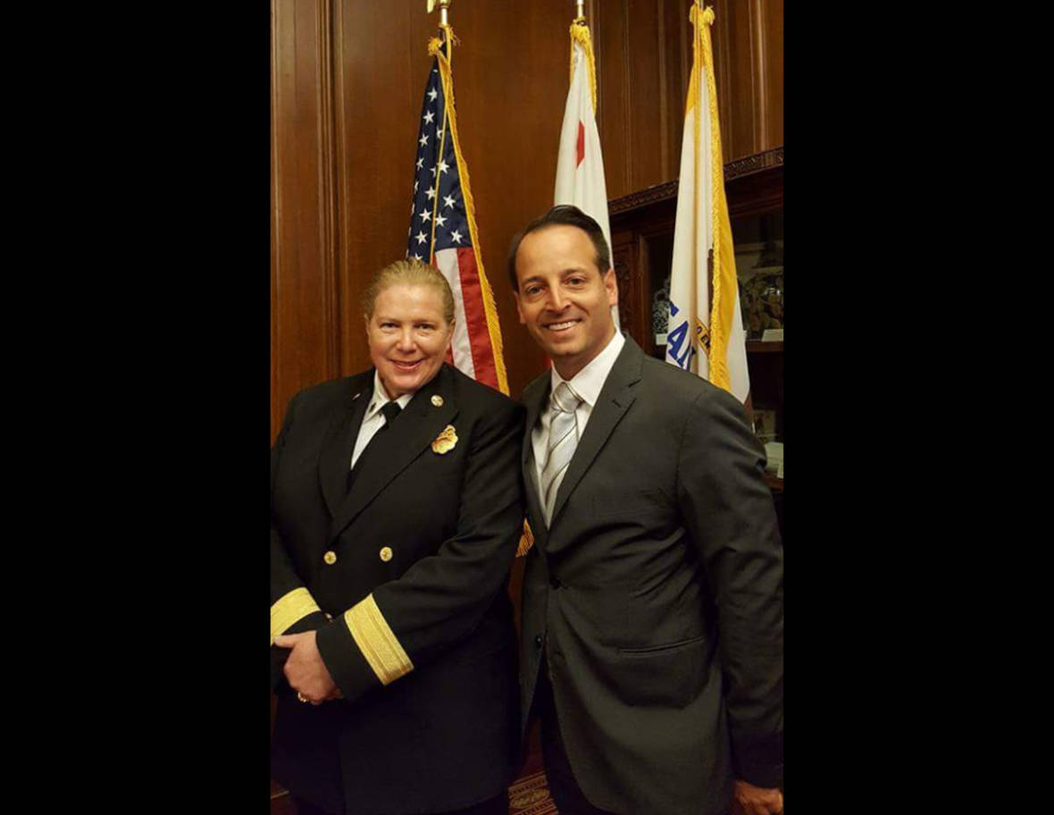 New S.F. Fire Commissioner With Famous Name Vows to Bridge Divide in Troubled Department