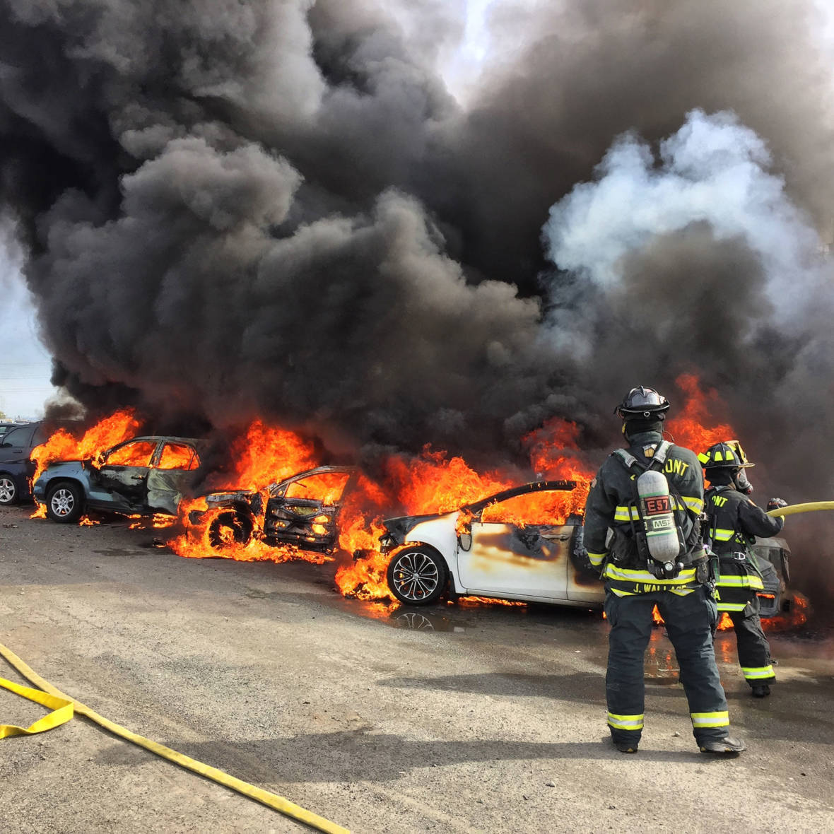 Fire That Torched Dozens of Cars in Fremont Deemed Suspicious