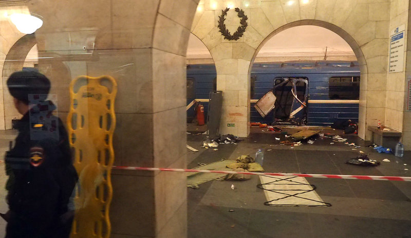 Investigators Say 'Explosive Device' Caused St. Petersburg Metro Train Blast