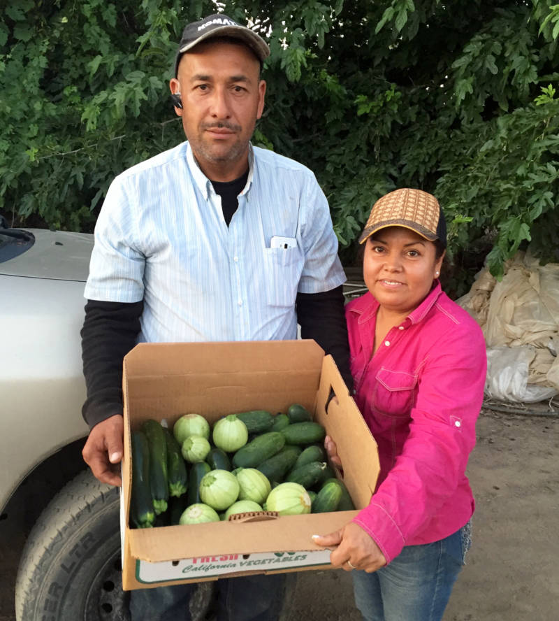 Farmworkers Arturo Aguilar and Ana Torres have put their five children through college, including Yuriana, UC Merced's first undocumented Ph.D.