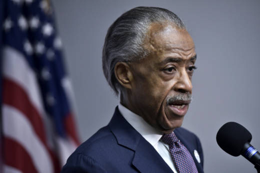 Rev. Al Sharpton and local leaders of his National Action Network lobbied in favor of AB 284, which would give local police and district attorneys the ability to ask the state attorney general's office to investigate police shootings.