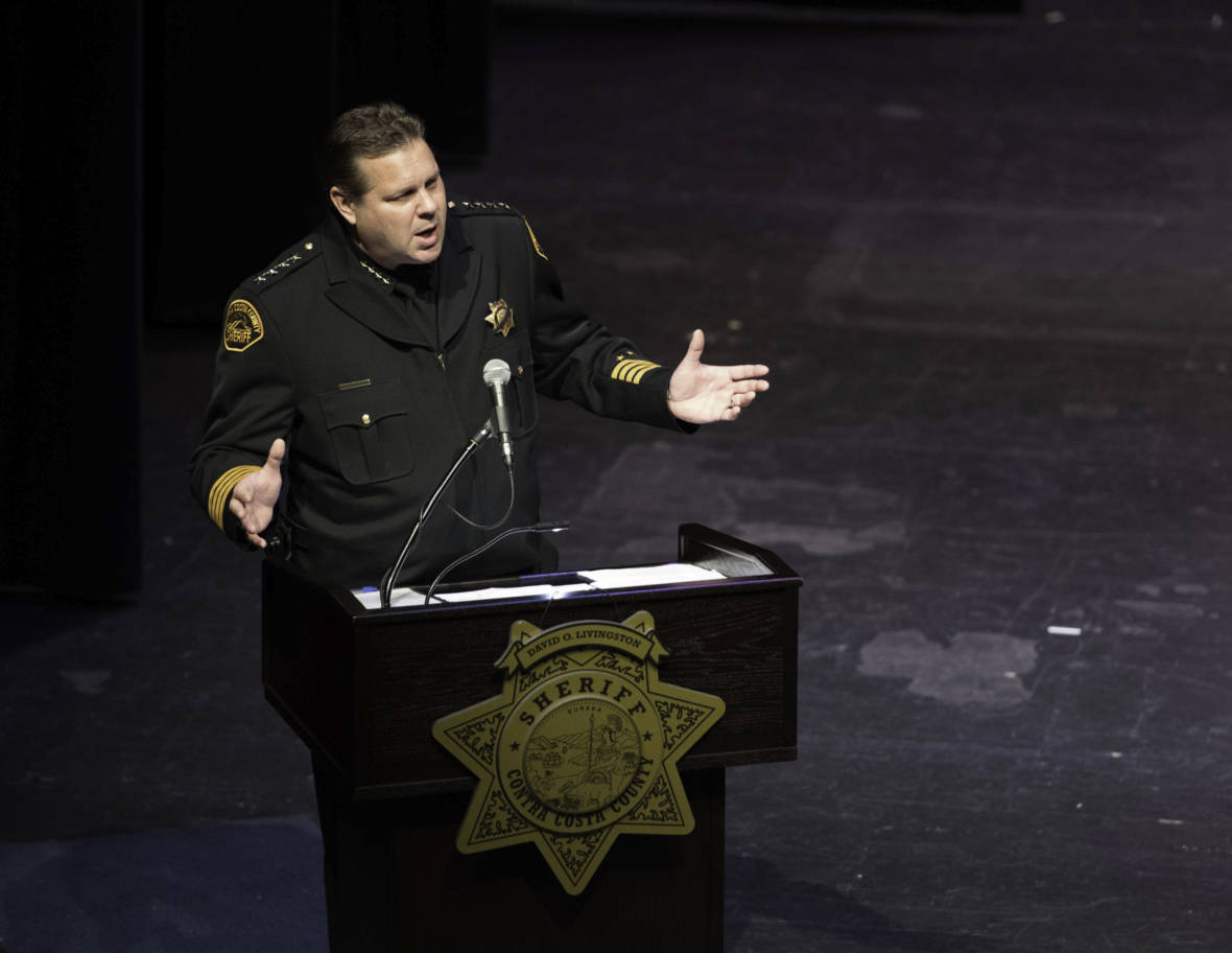Contra Costa County Sheriff Balks at Releasing Misconduct Records, Says 'Hundreds of Files' Need Review