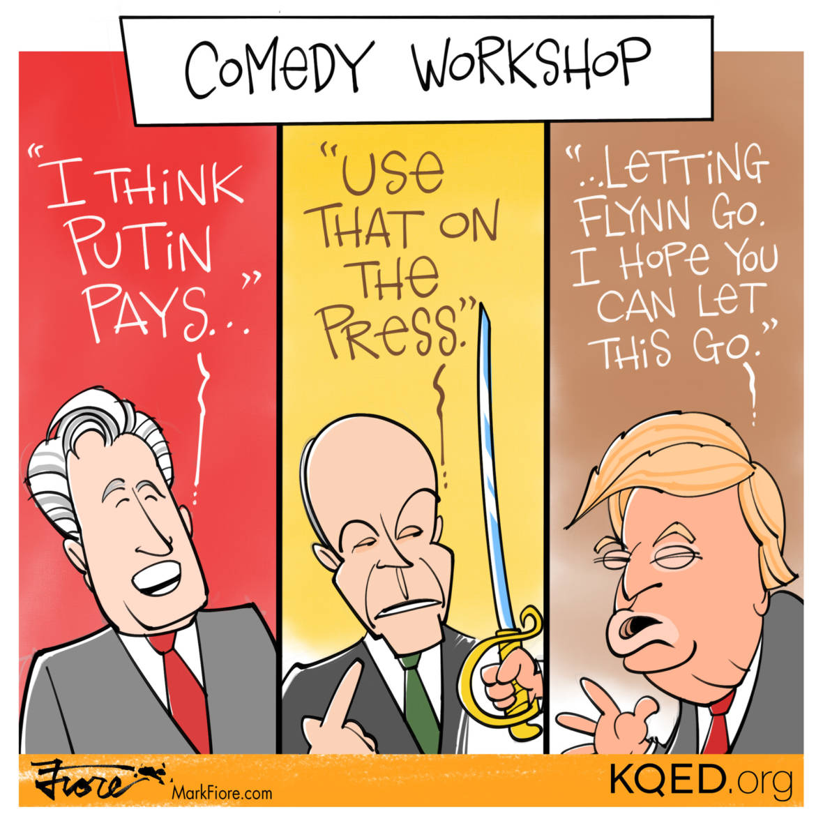Comedy Workshop by Mark Fiore