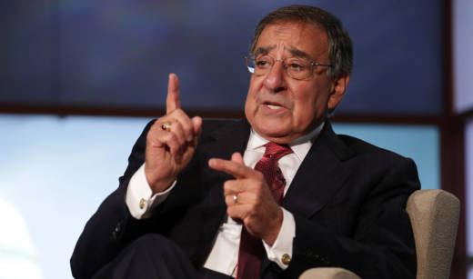 Former Secretary of Defense and former CIA director Leon Panetta.