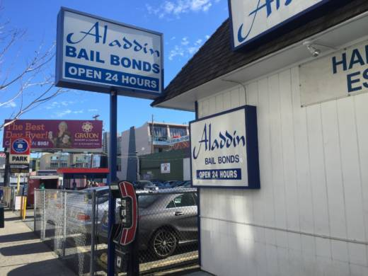 Aladdin Bail Bonds in San Francisco.