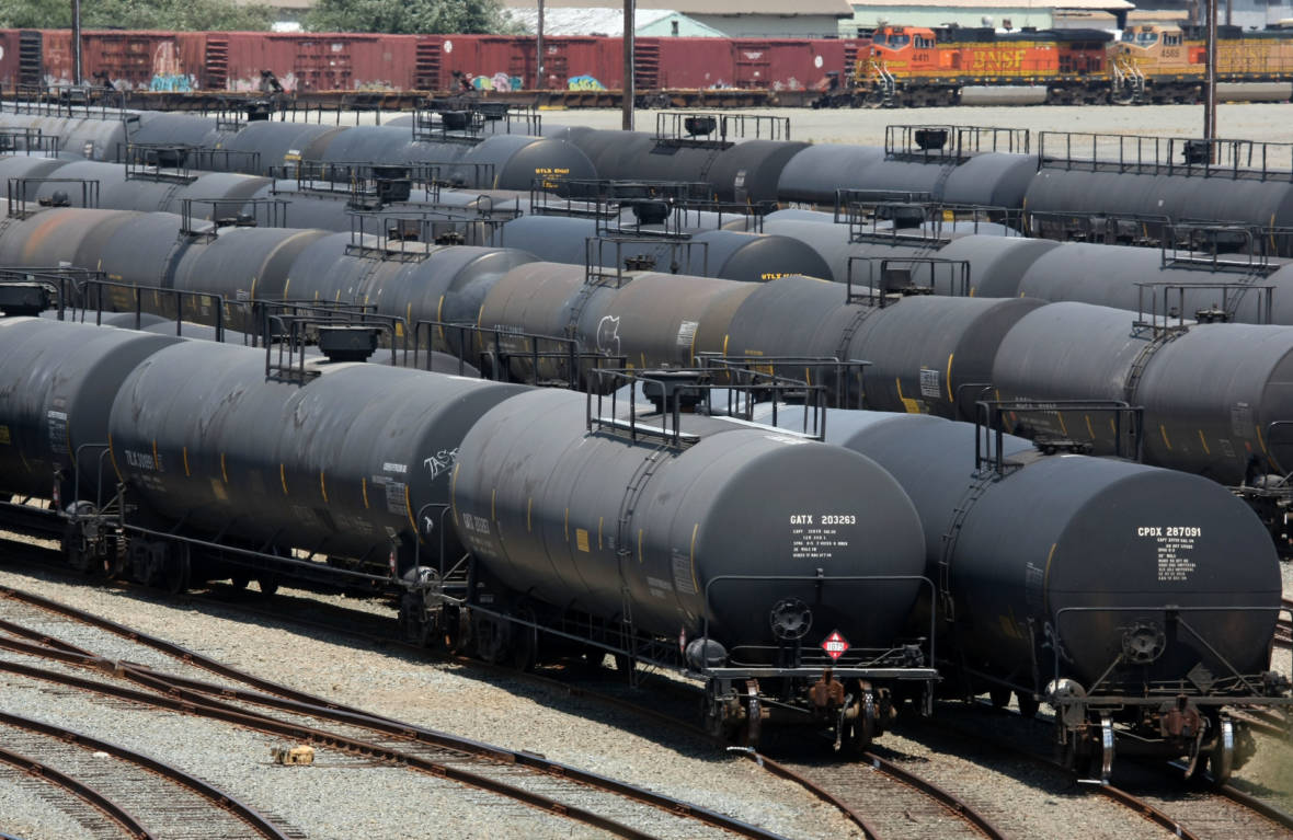 AG Becerra Wants Trump Administration to Make Crude-Carrying 'Bomb Trains' Safer