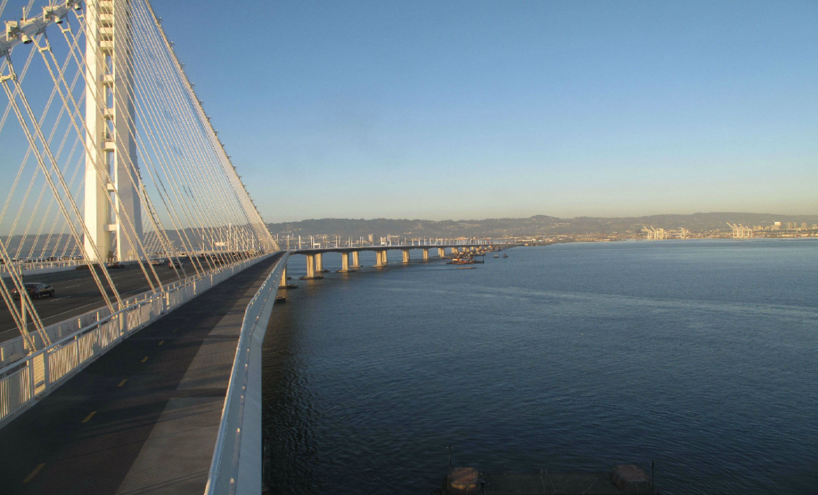 Bay Bridge Bikers and Hikers Get a Vista Point -- and Daily Access to Span