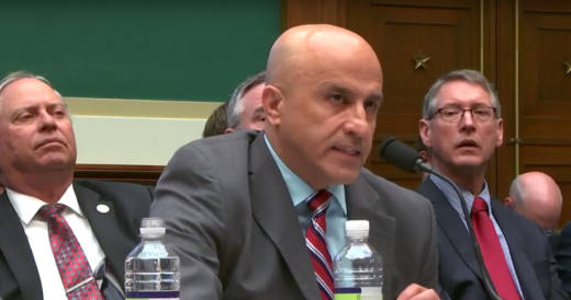 Seyed Sadredin, executive director of the San Joaquin Valley Air Pollution Control District, testifies at a March 22 Congressional subcommittee hearing to delay ozone standards.