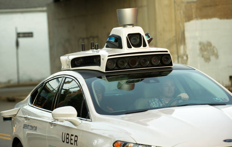 The judge's ruling prevents Uber from using technology on a laser navigational tool called Lidar that robotic cars use to see what's around them.