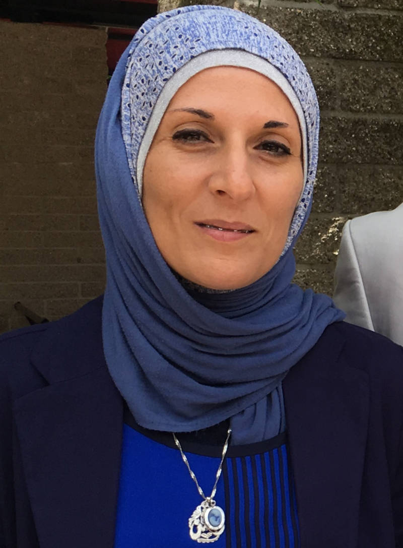 Interpreter Wasan Abu-Baker is guided by her own immigrant experience in helping Syrian refugees.