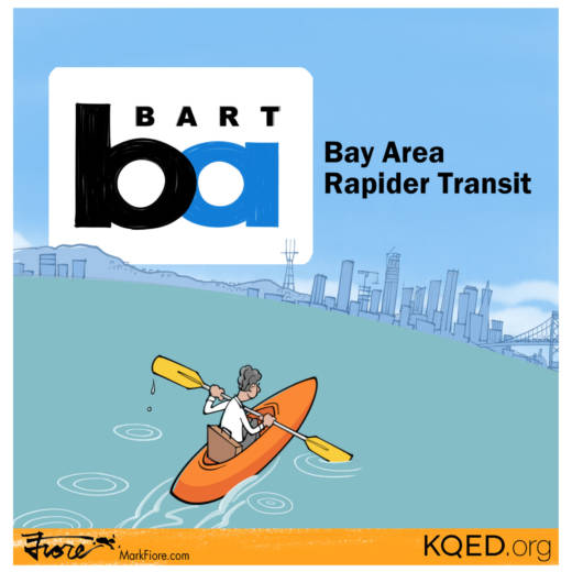 Bay Area Rapider Transit by Mark Fiore