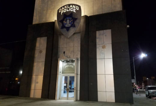 Oakland police headquarters on Nov. 12, 2016.