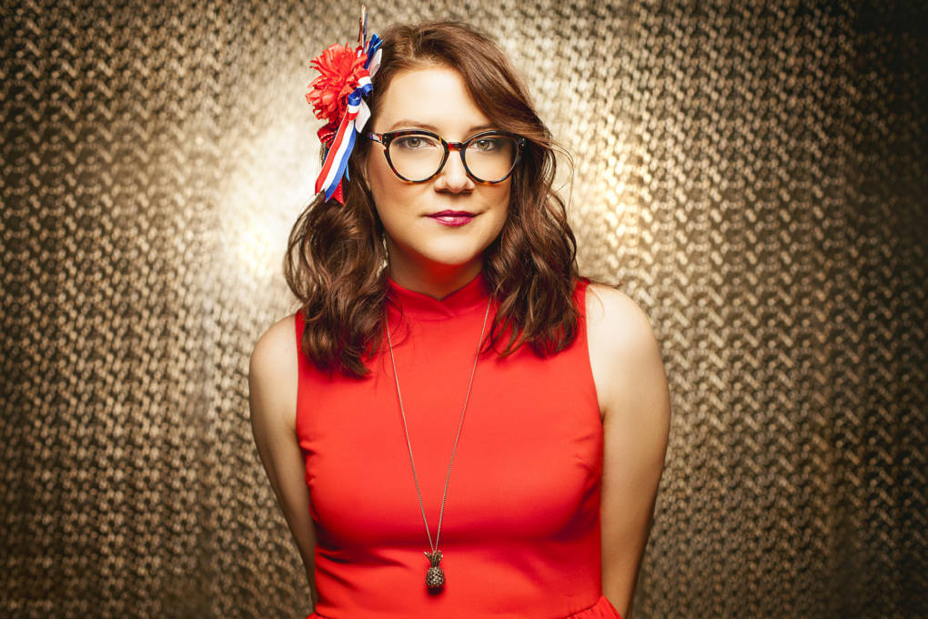 Sara Schaefer spent the first few months traveling around the U.S. performing stand-up at universities. The L.A.-based comic is trying out some new political comedy inspired by the era of Donald Trump.