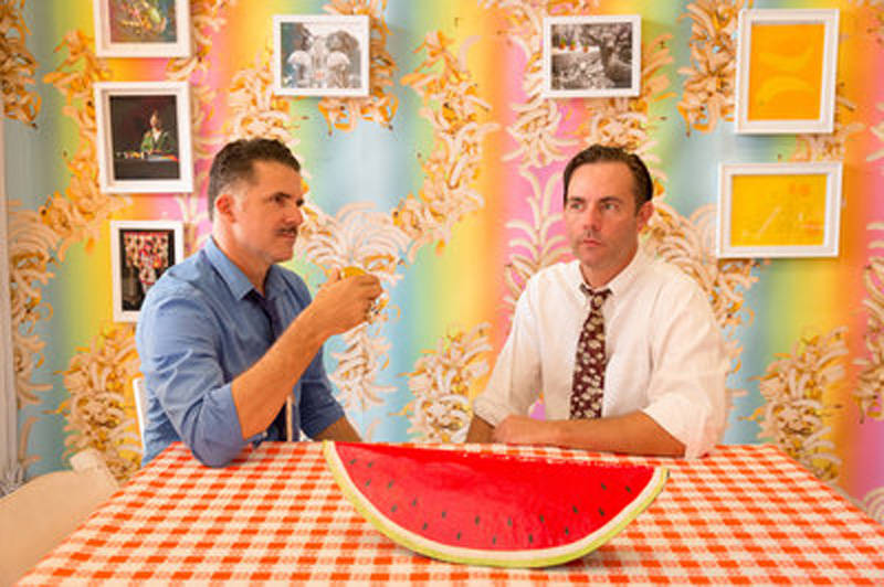 Austin Young and David Burns are co-founders of the artist collective Fallen Fruit.