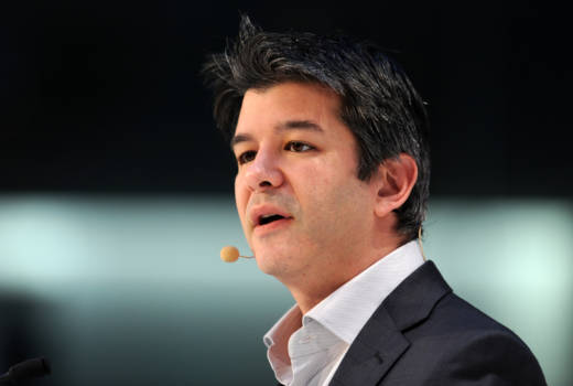 Former Uber CEO Travis Kalanick in 2015.