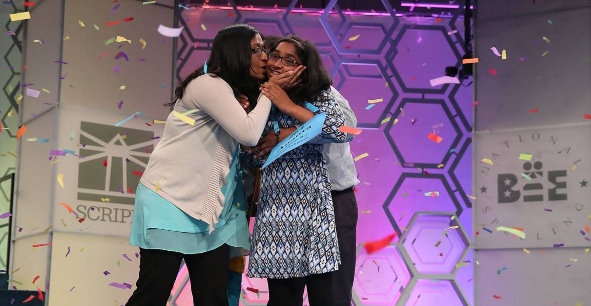 PHOTOS: Fresno Girl Wins Scripps National Spelling Bee