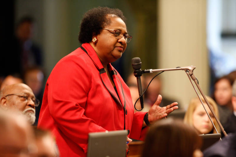 Democratic Assemblywoman Shirley Weber of San Diego is one of the most powerful members of the Assembly Education Committee. She has been fighting for greater fiscal transparency since California adopted a new school funding system four years ago.