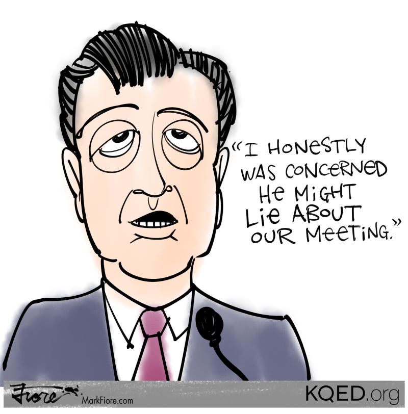 Comey Concerned by Mark Fiore