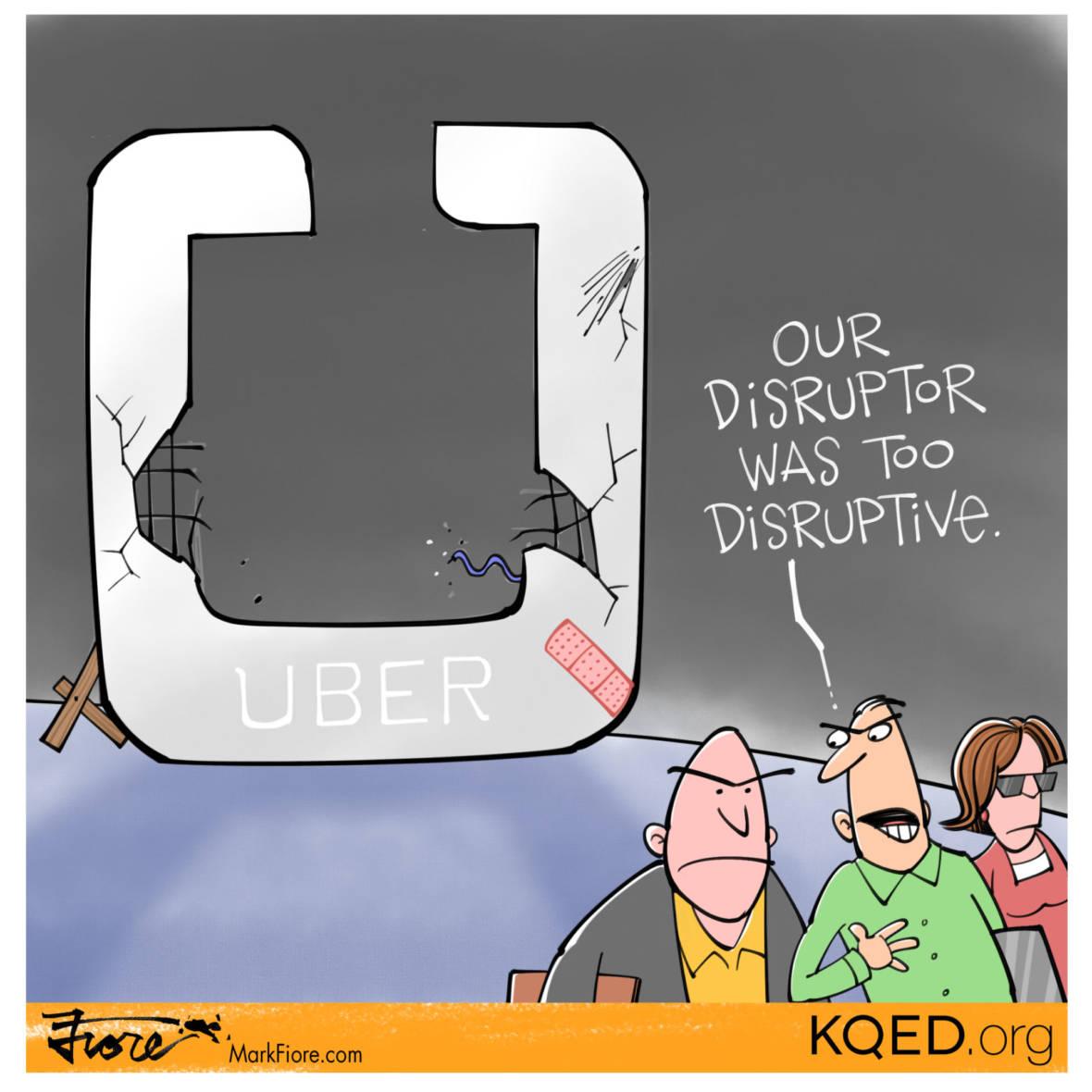 Disruptive Disruptor by Mark Fiore