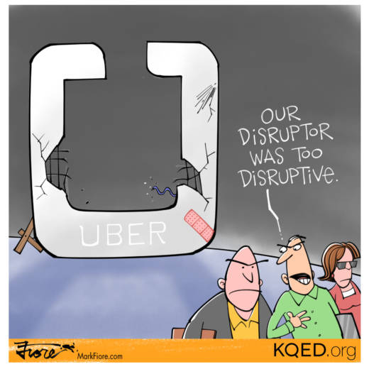 Disruptive Disruptor by Mark Fiore