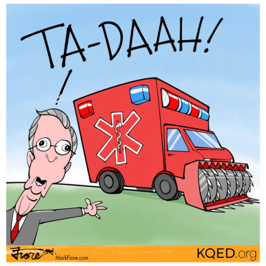 Ta-Daah by Mark Fiore