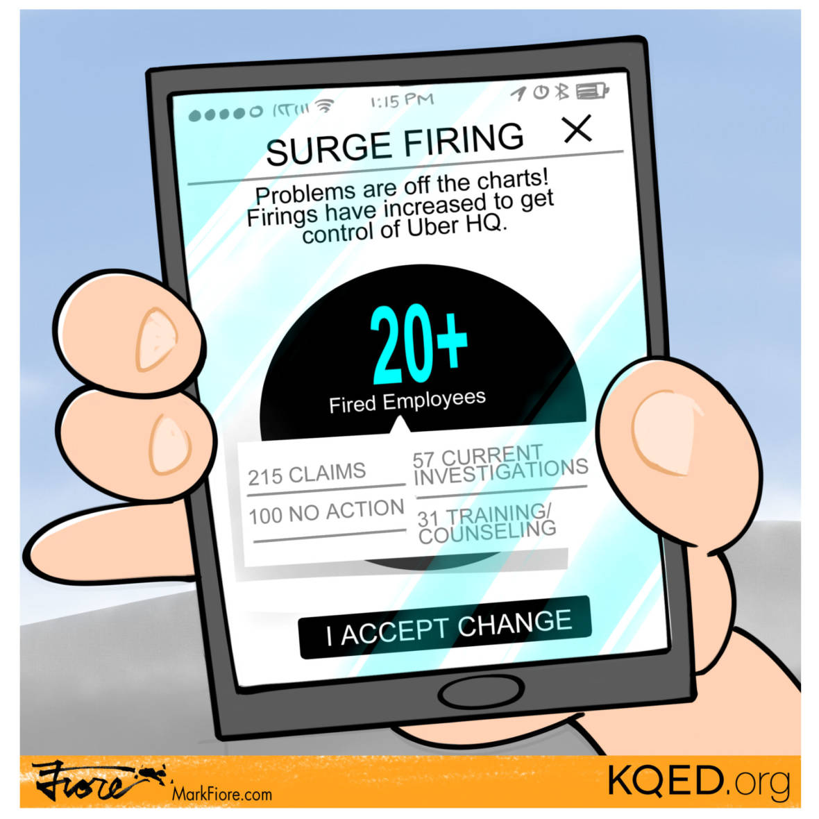 Surge Firing at Uber
