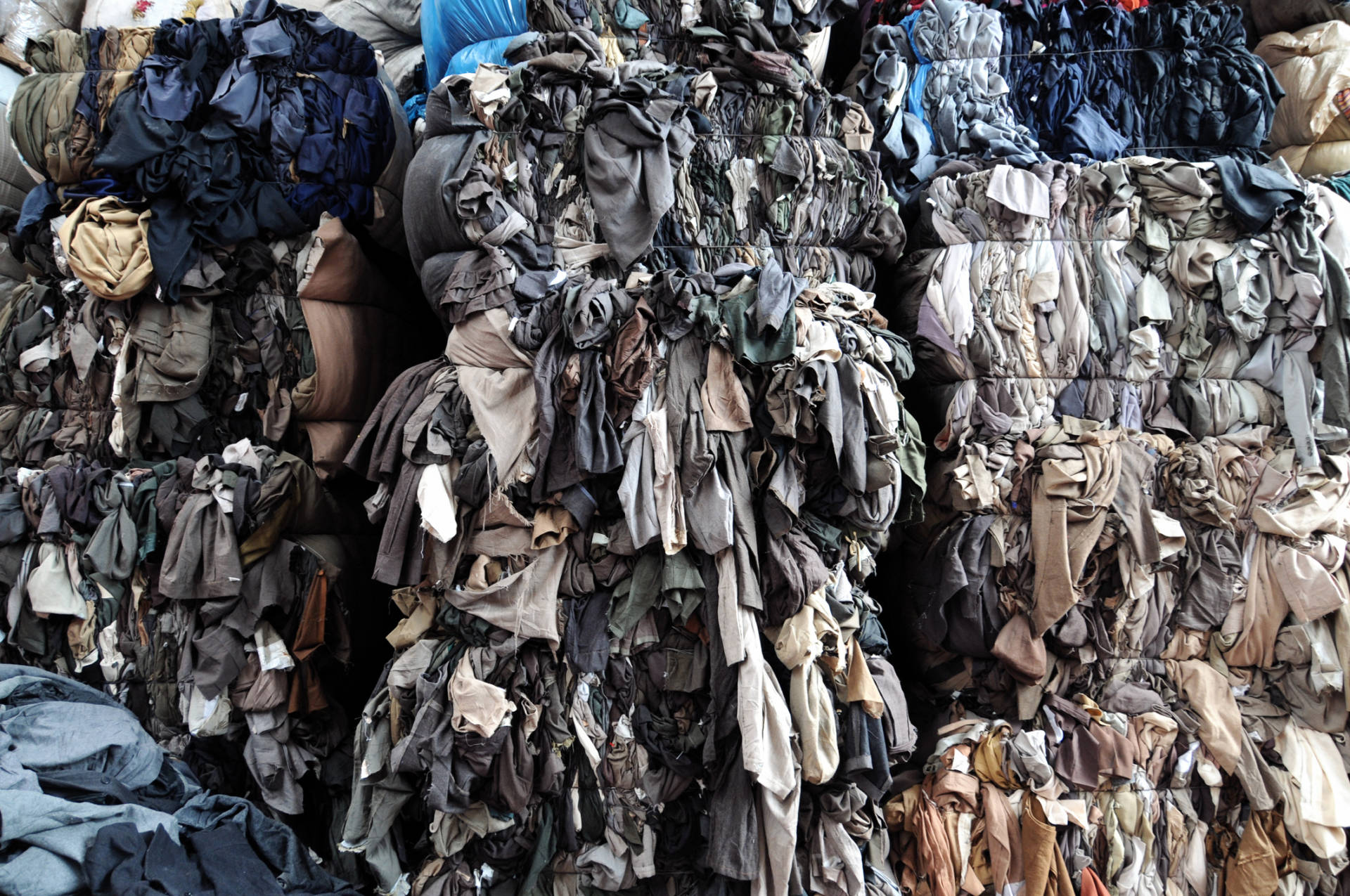 Thrift stores often recycle unwanted donations. Getty Images
