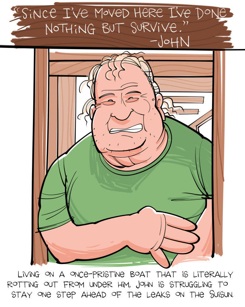 John Surviving by Mark Fiore