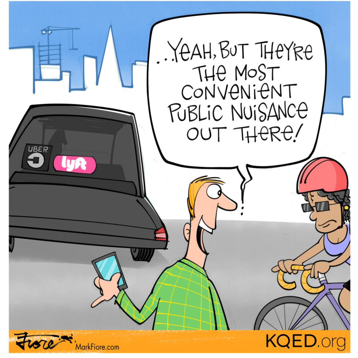 Public Nuisance by Mark Fiore