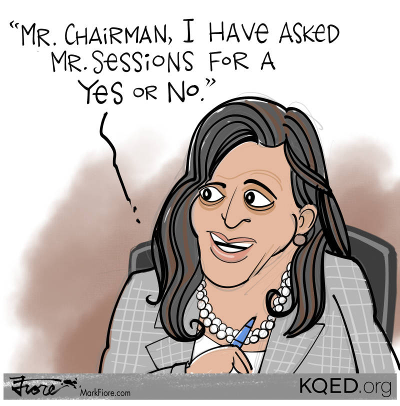 Image result for cartoons of kamala harris