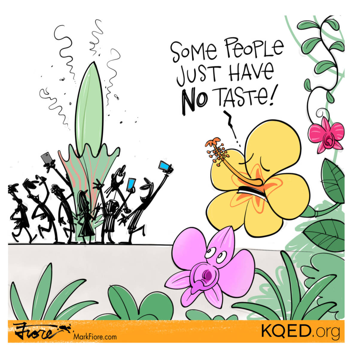 Corpse Flower by Mark Fiore