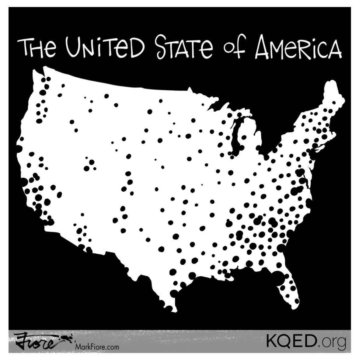 United State of America by Mark Fiore