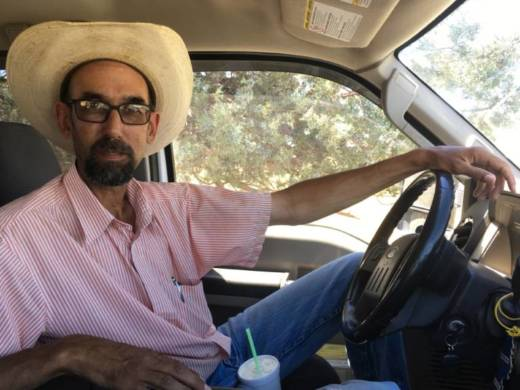 "Aaron Albaugh runs a cattle ranch in Lassen County. Living in a remote area, he says he's learned to ""do without"" a lot of things, including health care."