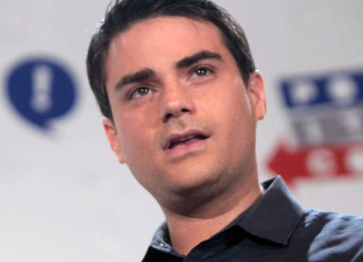 Ben Shapiro speaking in Pasadena.