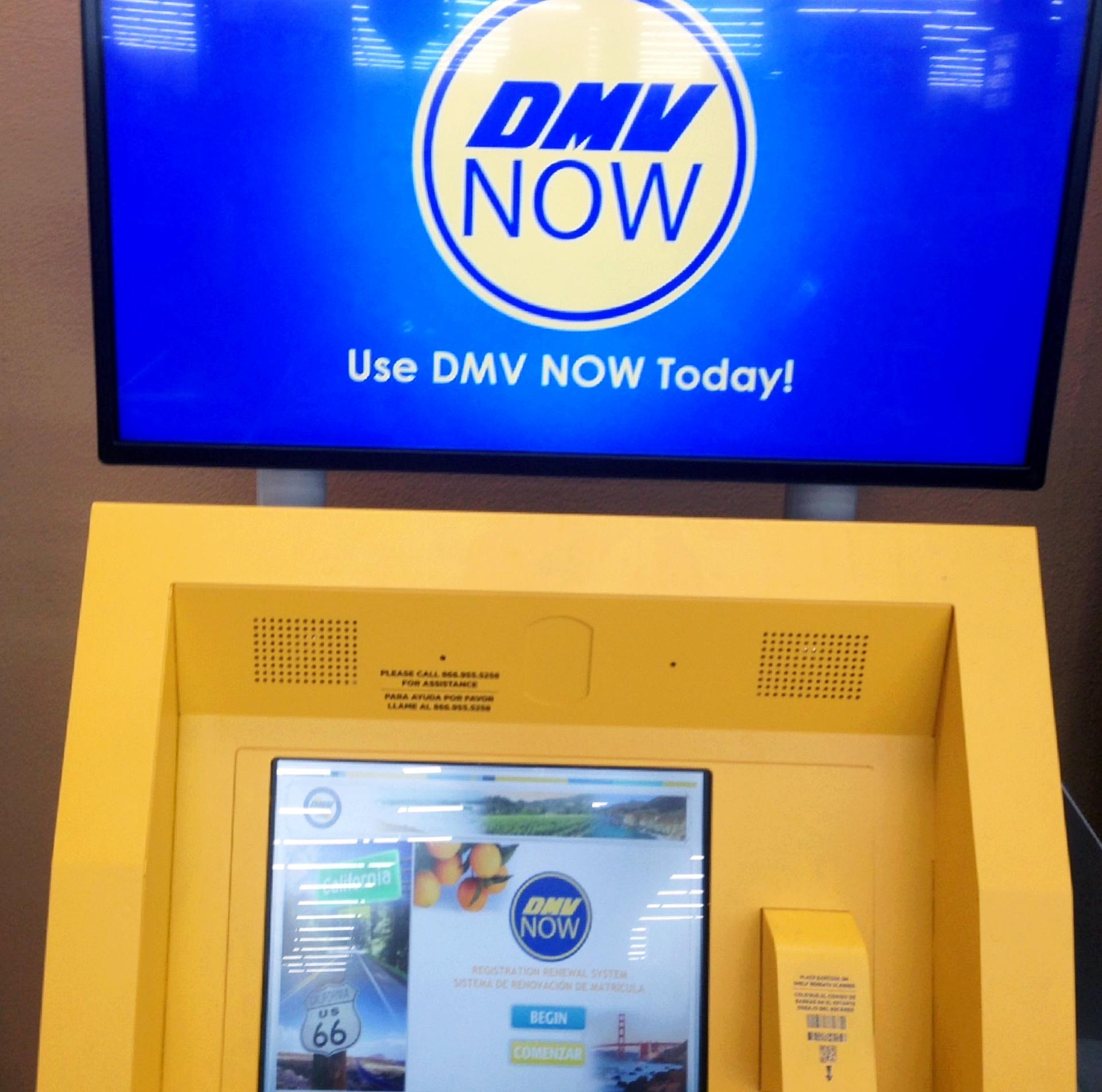 car registration machine