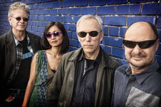 The usually pyrotechnic Kronos Quartet slows things down on its new album, 'Folk Songs.'