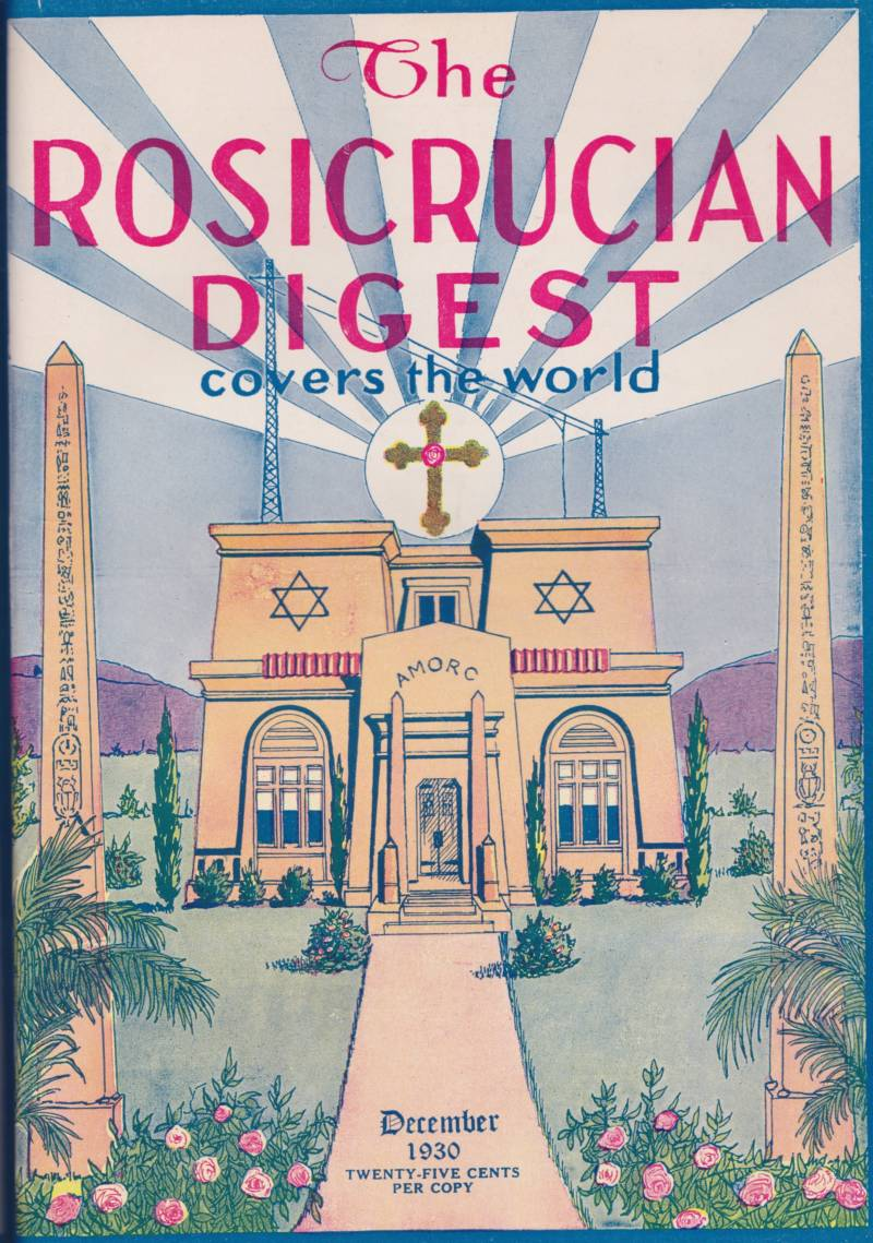 The Rosicrucian Digest, published continuously from 1915, is put out by The Ancient and Mystical Order Rosæ Crucis, which also runs the Rosicrucian Egyptian Museum in San Jose.