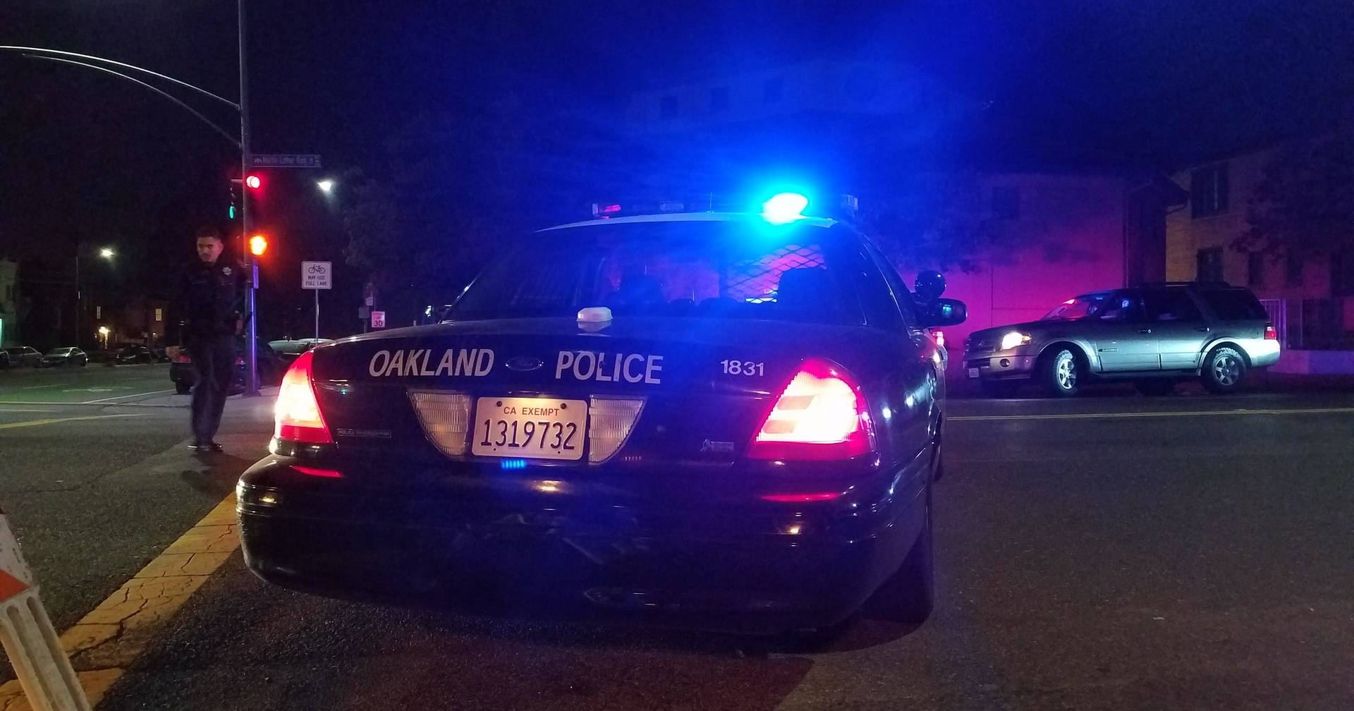 A federal judge heard arguments Monday on what a recent officer sexual exploitation case says about the Oakland Police Department's 14-year reform effort. Alex Emslie/KQED
