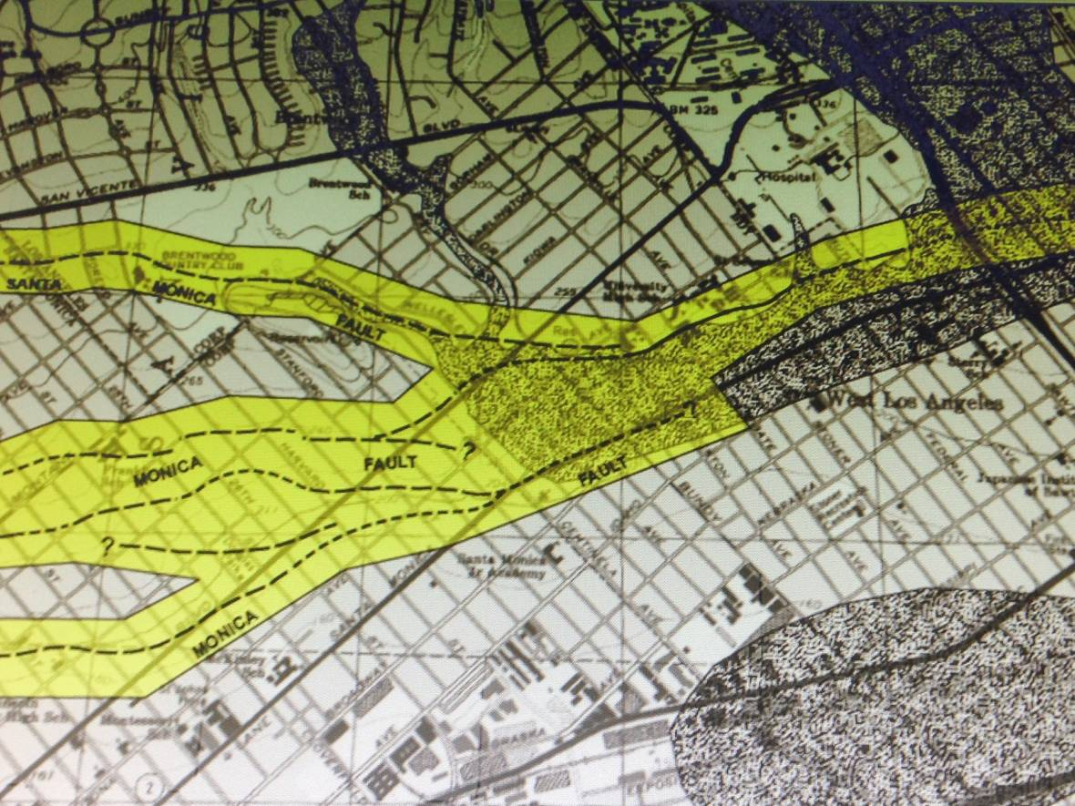 Detail of CGS preliminary hazard map for