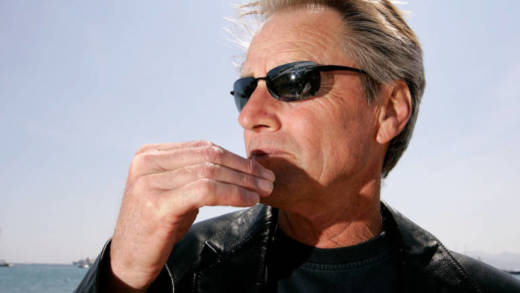 Sam Shepard poses for a portrait while promoting the film 'Don't Come Knocking' at the 58th International Cannes Film Festival May 20, 2005 in Cannes, France.