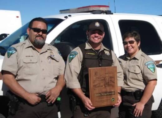Bureau of Land Management Ranger John Woychowski was named El Centro Field Office 'Ranger of the Year' in 2011.
