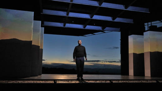 Edward Parks as Steve Jobs in the new opera 'The (R)evolution of Steve Jobs by Bay Area composer Mason Bates.