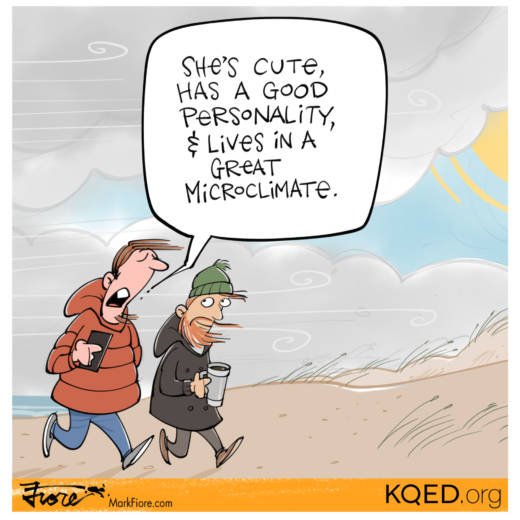 Summer in San Francisco by Mark Fiore