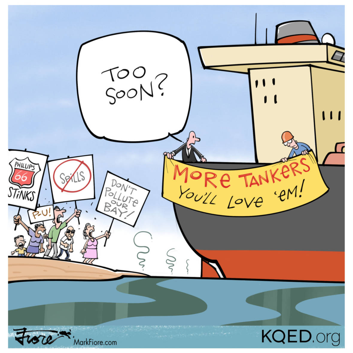Too Soon by Mark Fiore