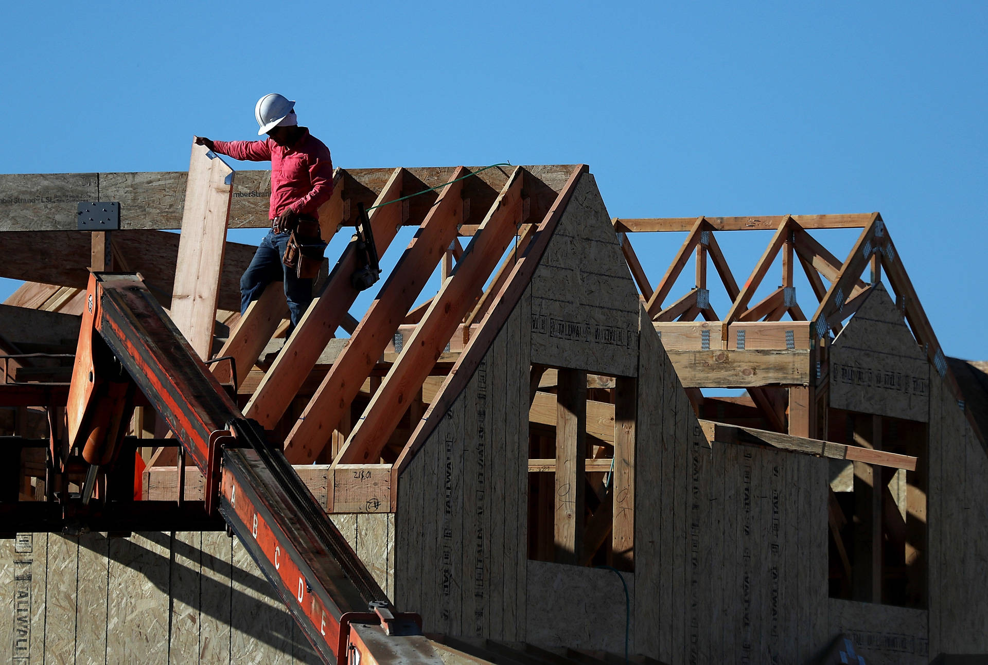 The bond measure addresses one cause of California's affordable housing crisis: a lack of state funding to construct homes for low-income residents. Justin Sullivan/Getty Images