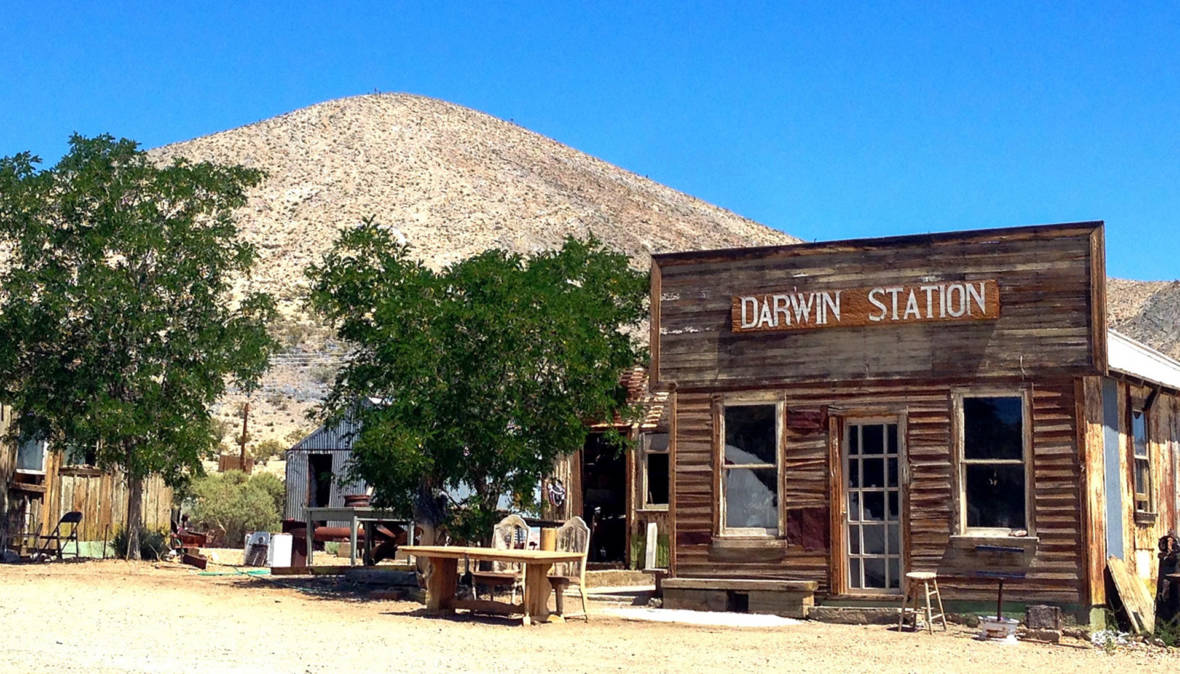Cultural Life Flourishes in This 'Almost' Ghost Town Near Death Valley