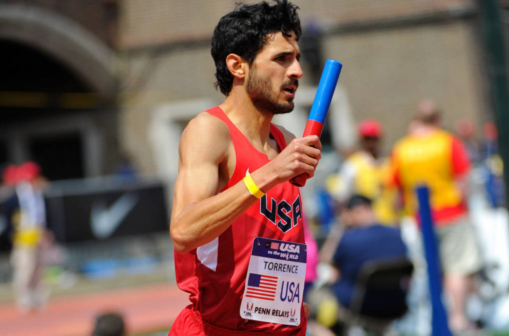 David Torrence, seen here during the 2014 Penn Relays at Franklin Field in Philadelphia, has died in Scottsdale, Ariz.