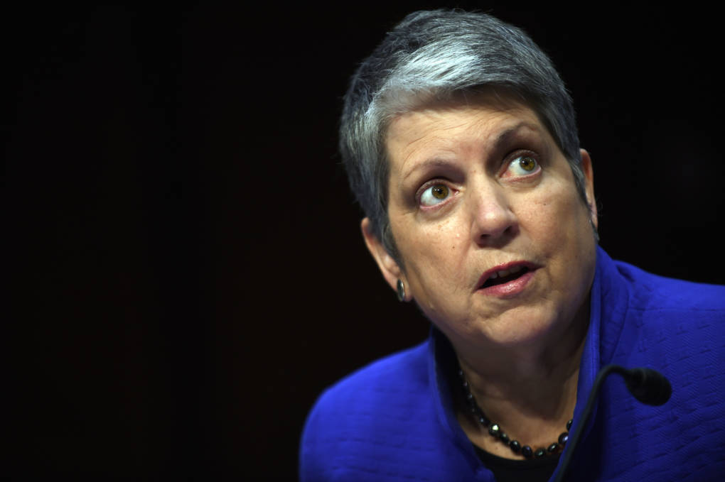 Janet Napolitano, president of the University of California, responded to a state audit of the school system.