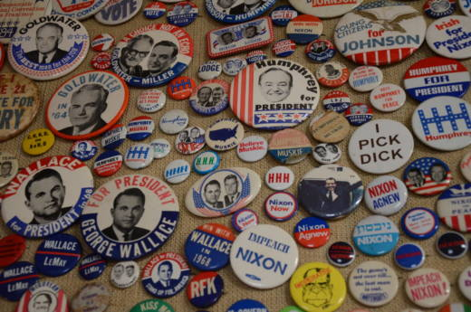 Alan Rosenzweig started collecting buttons when he was 12 years old. His collection now totals more than 240,000.