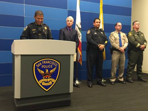 Joint Bay Area-Federal Operation Nets 75 Arrests on Gun, Drug